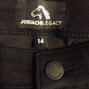 Jordache Legacy BLACK JEANS! NEW! From 2016-2017